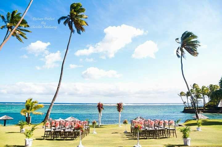 Warwick Fiji ceremony setup