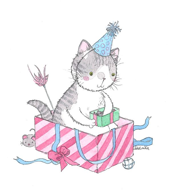 Birthday giveaway! Purr, Teddy Cat, Bobek and friends - The Meow Blog by Adelaida