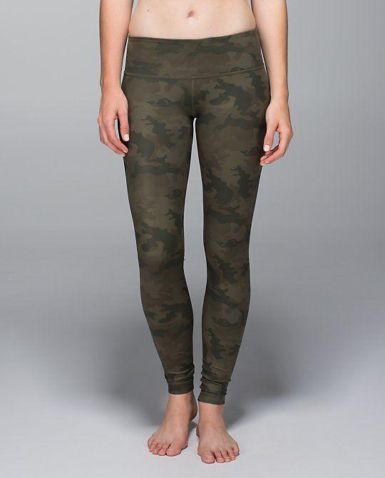 Wunder Under Pant *Full-On Luxtreme - savasana camo 20cm fatigue green - Size 6