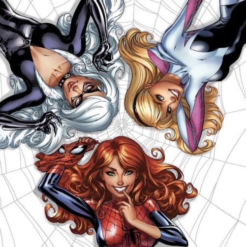 BLACK CAT, MARY JANE WATSON AND SPIDER-GWEN
