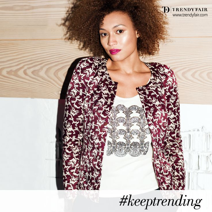 No matter what you do, always keep trending!  Balmain camisole, Isabel Marant jacket