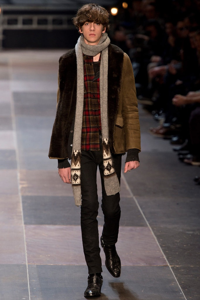 Saint Laurent Fall 2013 Menswear Collection Slideshow on Style.com
