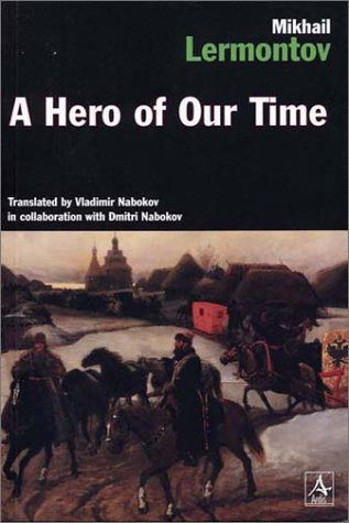 """A Hero of Our Time - Mikhail Lermontov.  The story is divided into five seperate tales.  The """"hero"""" is disreputable and Byronic.  Lermontov claims that he is not a character at all, but rather a composite of all of the justified vices of his time."""