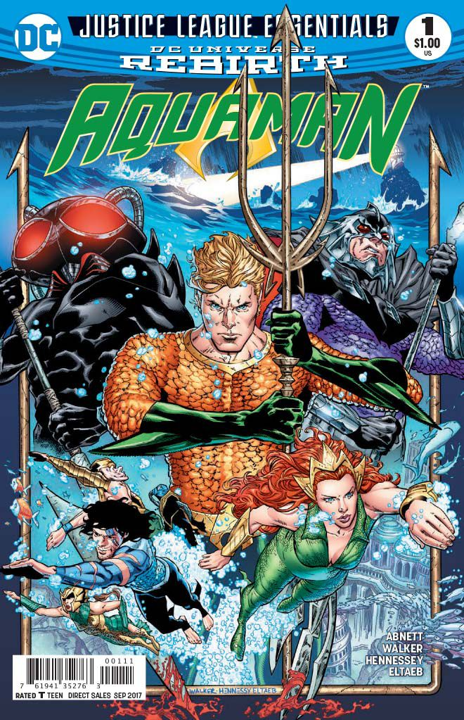 DC Justice League Essentials: Aquaman Rebirth #1 - The Drowning,  Part One: The End of Fear