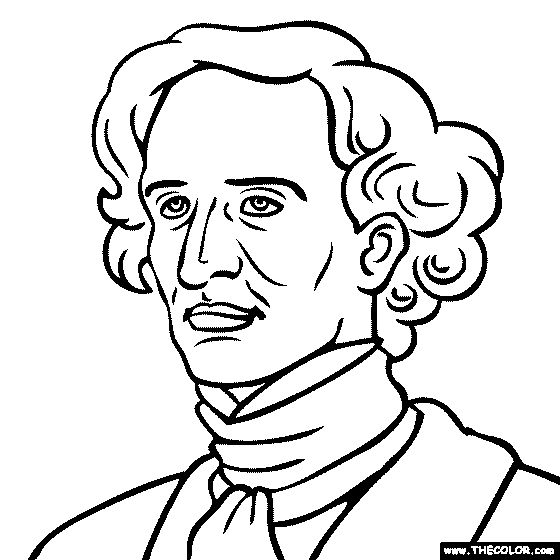 hector berlioz coloring page
