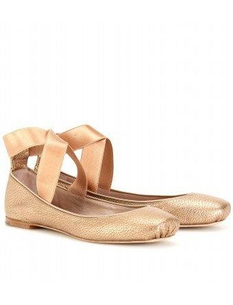mytheresa.com -  Chloé - SQUARE TOE BALLERINAS - Luxury Fashion for Women / Designer clothing, shoes, bags: Dreams Flatss, Toe Ballerinas, Points Shoes, Champagne Chloé, Calceamenti Shoes, Chloe, Ballet Flats, Shoes Bags, Squares Toe
