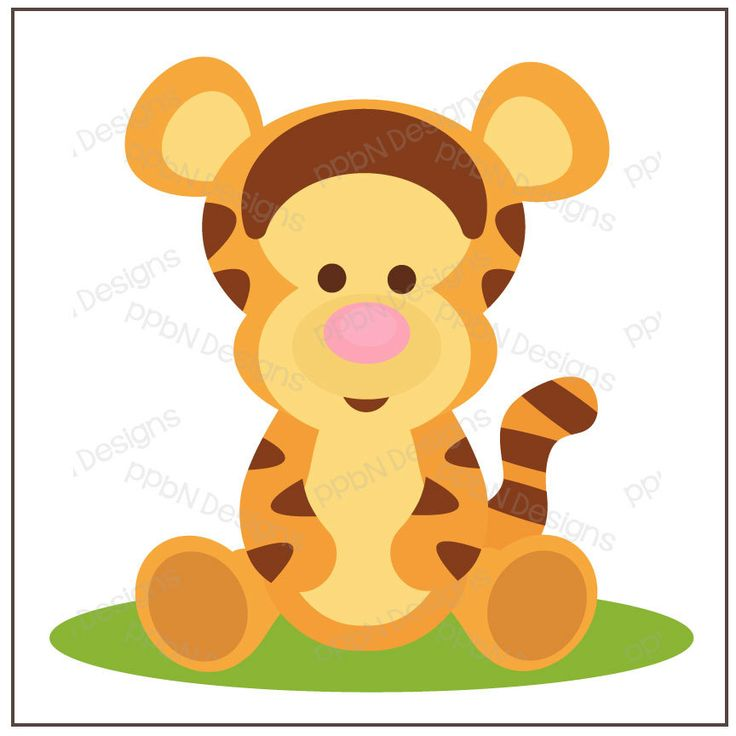 PPbN Designs - Bouncing Baby Tiger (Free for Members ONLY), SVG,SVG cutting files,cut files