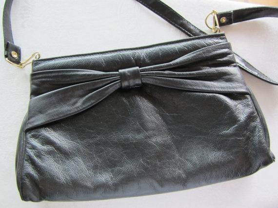Vintage Crossover Leather Karnig Mann Purse by FancyVintageFinds, $20.00