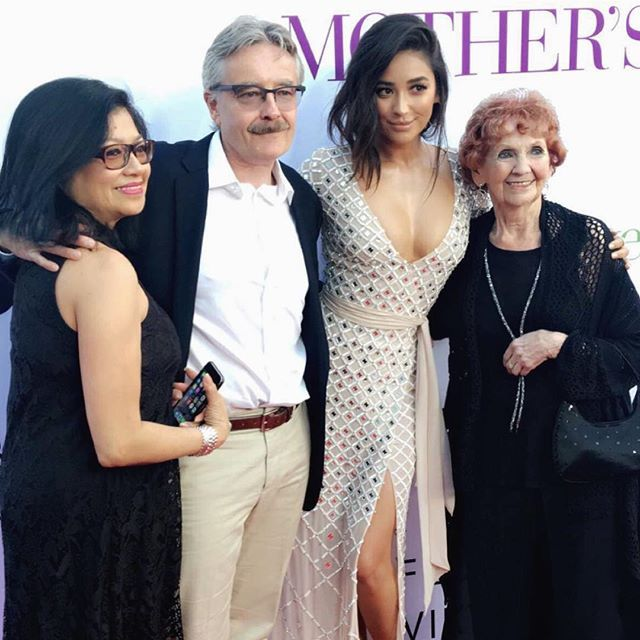 Pin for Later: Stars Celebrate Mother's Day Weekend With Their Loved Ones Shay Mitchell