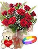 Send online red roses bouquet with teddy and love band to Hyderabad delivery. Assured door step gifts delivery to all location in Hyderabad. Visit our site : www.flowersgiftshyderabad.com/Combo-Gifts-to-Hyderabad.php