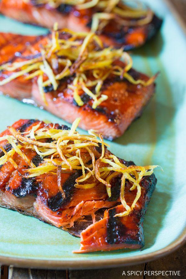 Candied Smoked Salmon Recipe
