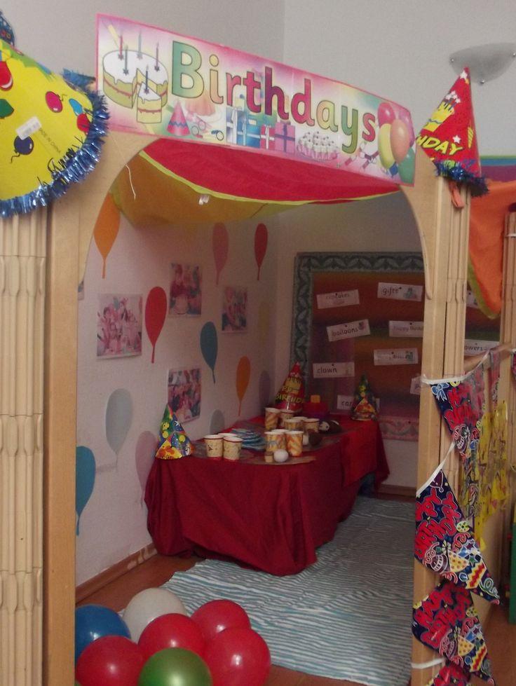 Birthday Party Role Play Corner @Acorns Nursery Bucharest