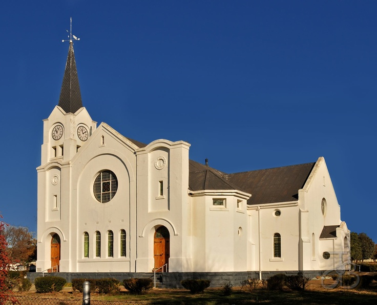 Dutch Reformed church of Jamestown North, Eastern Cape, South Africa. Photo by JdB.