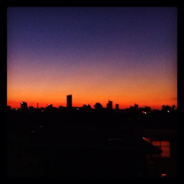 Melbourne - dusk