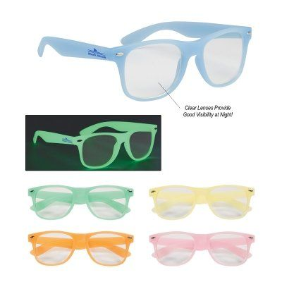 Glow-In-The-Dark Frame Glasses With Clear Lenses-------------------  $1.59/ea  |  Hit  6220