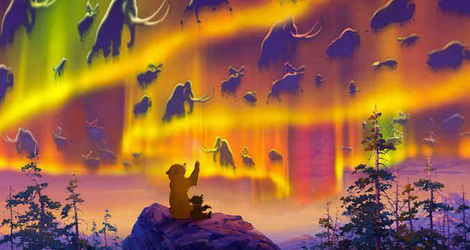 """When the three of us were young, we were taught that the world is full of magic."" - Brother Bear"