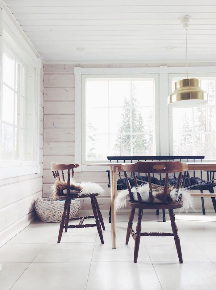bumling scandinavian style white home