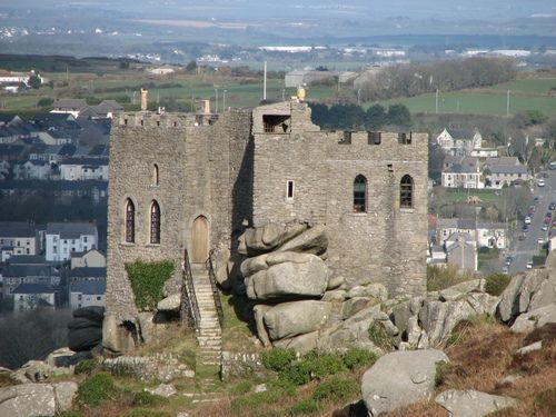 Carn Brea Castle ~ Redruth, Cornwall England ... #cornwall hotel deals http://holipal.com/hotels/ My Grandmother was born in Redruth. Would love to see the area.