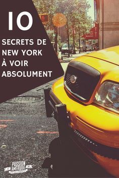 Les 10 secrets de New York City à ne surtout pas louper lors de votre prochain voyage ! Repin si vous aimez :) #NewYork #NYC #voyage #Information #Guide #Secret #Spot #Itinéraire #conseils
