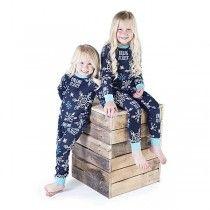 Falling to Sleep Union Suit Pajama for Infants