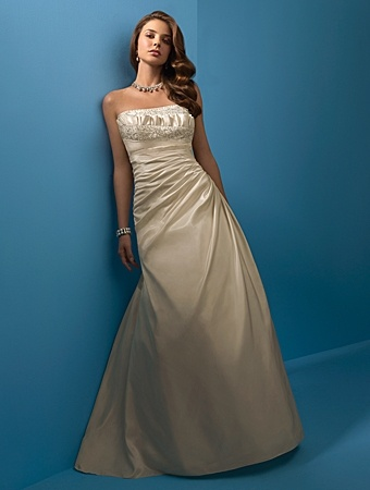alfred angelo 471 2103  icegold  like champagne color wedding dresses