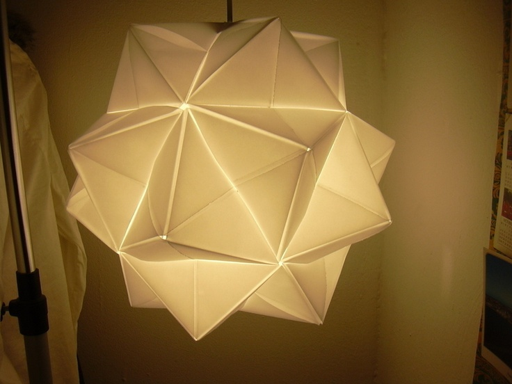 66 best origami images on pinterest origami paper art and paper paper lampshade aloadofball Image collections