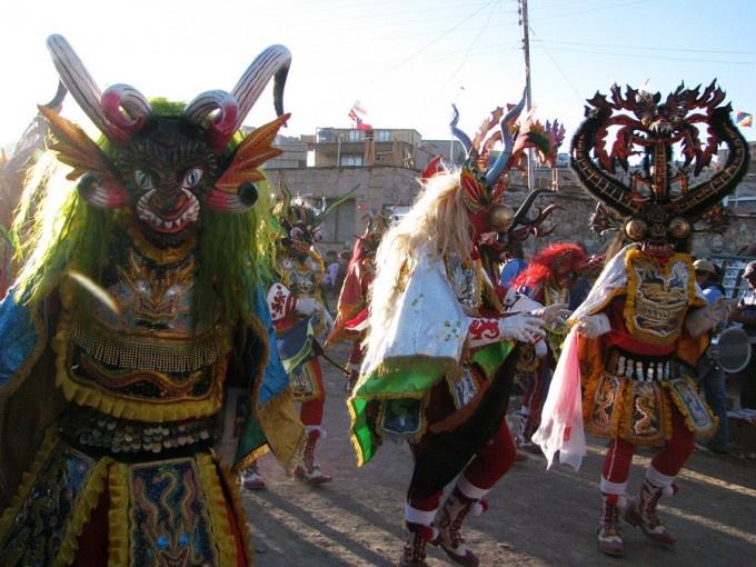 AYQUINA, festividad de la Virgen de Guadalupe, Comuna de Calama, Norte grande de Chile