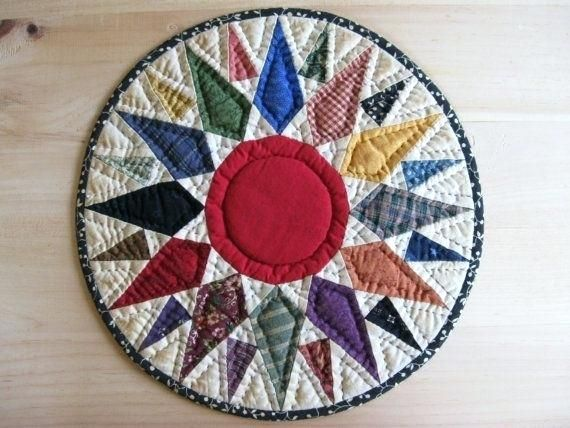 Quilted Round Table Toppers.Round Table Topper Best Table Toppers Images On Table Runners