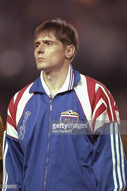 A portrait of Dragan Stojkovic of Yugoslavia taken before the start of the world cup qualifier against Spain in Valencia Spain Mandatory Credit Ben...