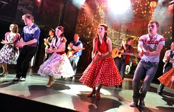 Dreamboats and Petticoats The Musical at The Playhouse Theatre.