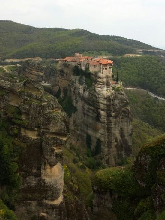 www.hostelmeteora.com  Seen from a distance, Meteora in Greece has a truly fascinating landscape. By taking a Meteora hiking tour, you can get up close and personal, and experience it from a different perspective. Read the full article to find out more.