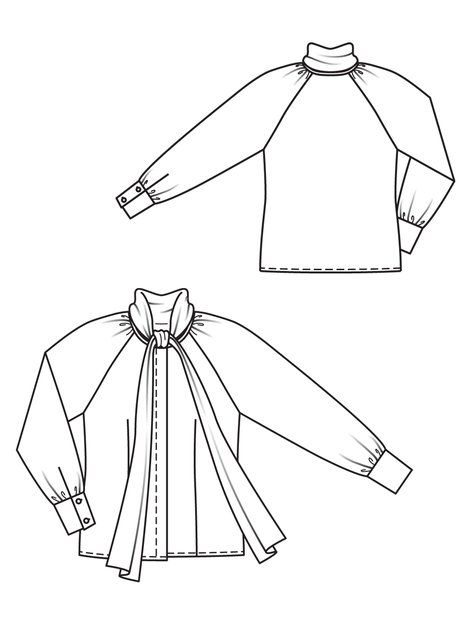 Blouse Drawing And Cutting 37