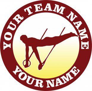 Customized Gymnastics Logo 03
