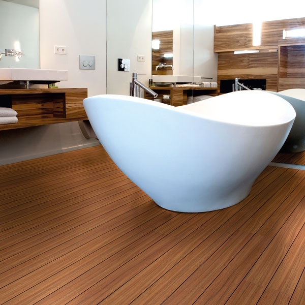 Aqua Step Merbau 368 MBFSV. The Shipdeck designs are beveled along the long sides of the plank. The black square grooves of the Shipdeck finishing give your floor the authentic look of a ship deck.Aqua-Step flooring is 100% waterproof, providing you with years of comfort and a worry-free future.