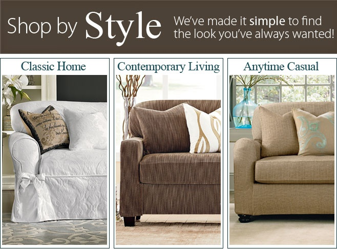 browse by slipcover style classic home living anytime casual