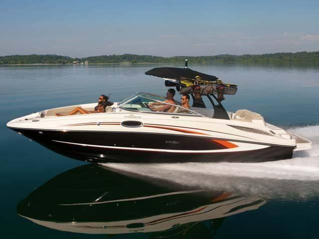New 2012 Sea Ray Boats 185 Sport Bowrider Boat - Good Looking Boat!