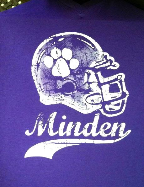 minden high school whippets football t shirt design screen print - Homecoming T Shirt Design Ideas