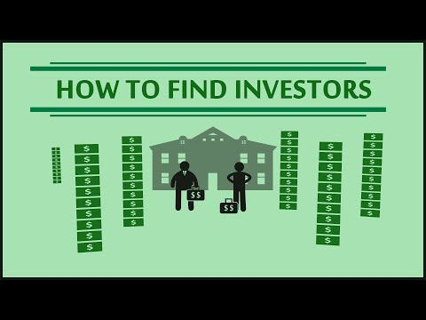 HOW TO FIND INVESTORS - Funding your real estate deals - http://www.sportfoy.com/how-to-find-investors-funding-your-real-estate-deals/