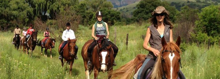 Self Catering Accommodation and Horse Trails