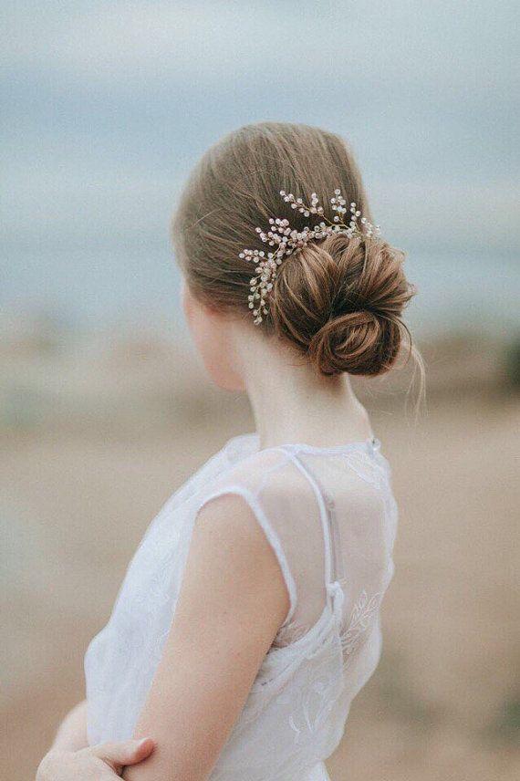 Bridal Hair Pins Wedding Hair Pins Bridal Headpiece Bridal Hair Adornment Hair...
