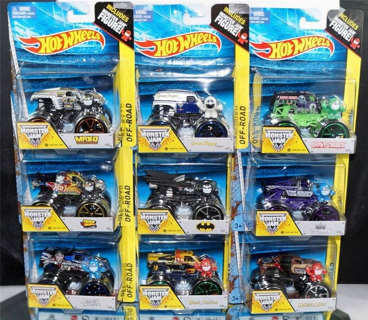 HOT WHEELS 2014 LOT OF 9 MONSTER TRUCKS W/ TRACK ACE TIRES GRAVE MAXD 1:64 VHTF #HotWheels   Check out boundlessbargains.com for more great items for sale, thank you.