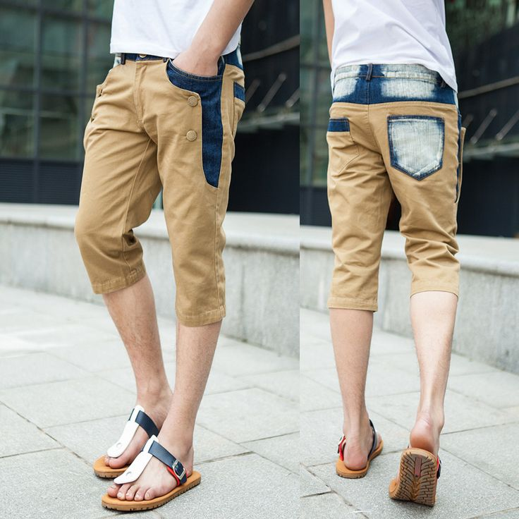 Since shorts are worn in a warm weather, it is necessary to take a note on the material of the shorts when you buy men's shorts online.
