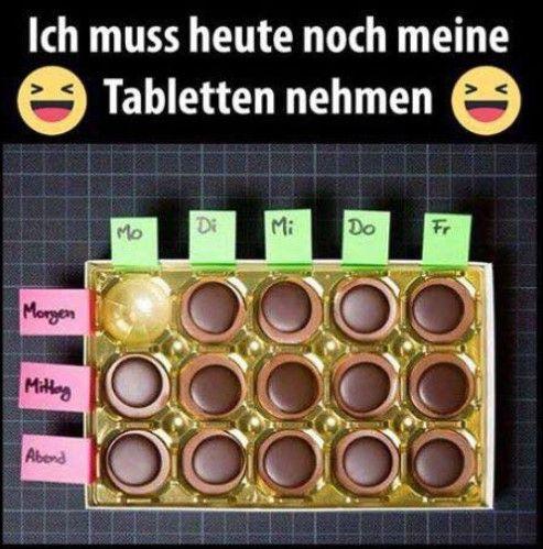 Tablettenausgabe. Wem würdest Du eine Tablette abgeben?