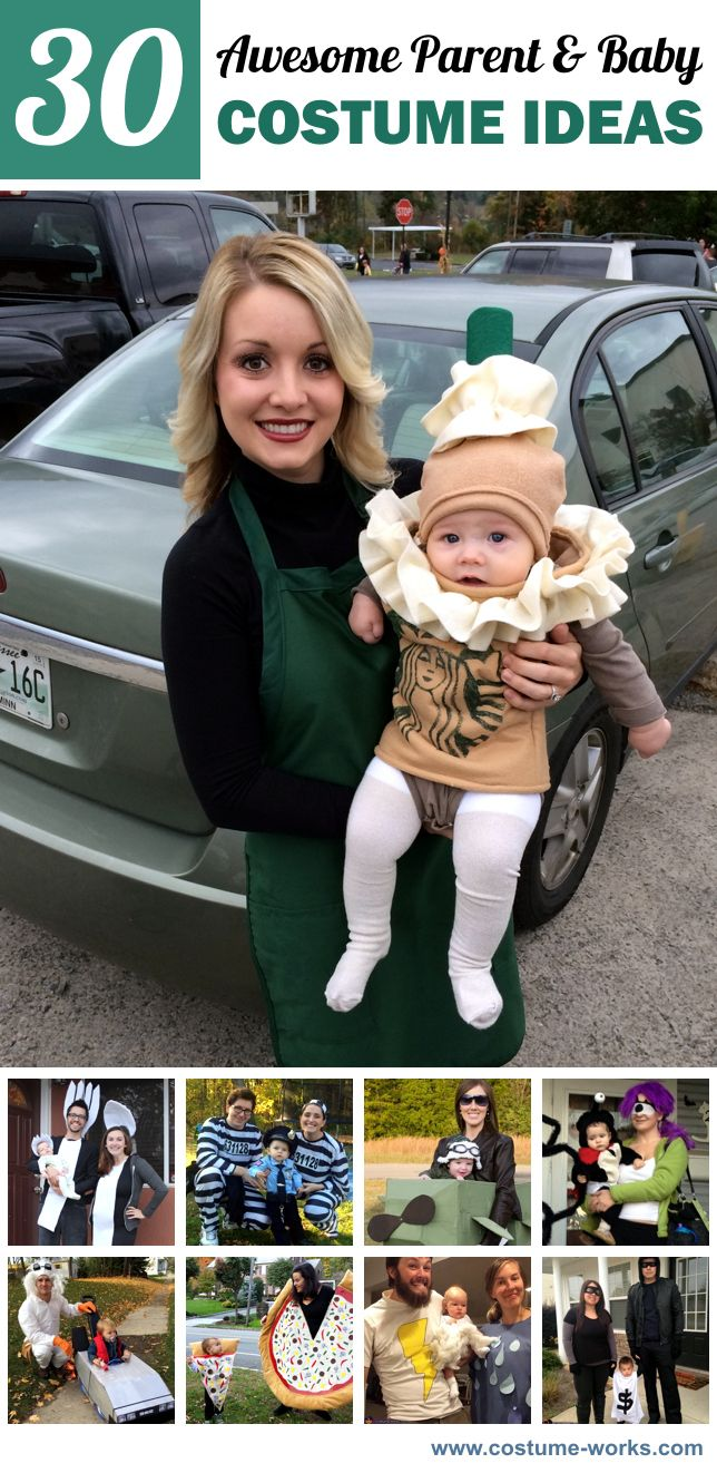 30 Awesome DIY Parent & Baby Halloween Costume Ideas