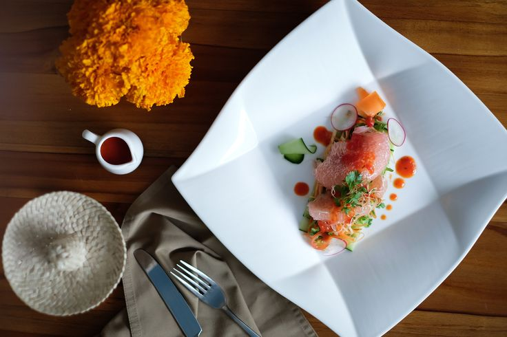 Pomelo Salad for lunch or dinner for those who craving for healthy food