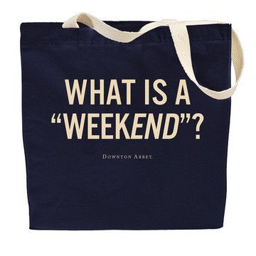dowager countess, ftw. weekend bag via @CasaSugar
