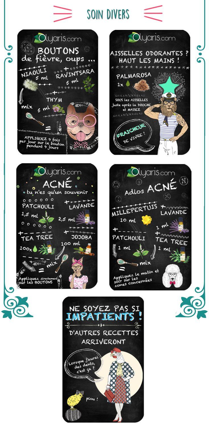 recette peau et soin du visage - divers