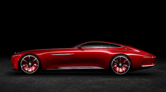 Passion For Luxury : The Vision Mercedes - Maybach 6
