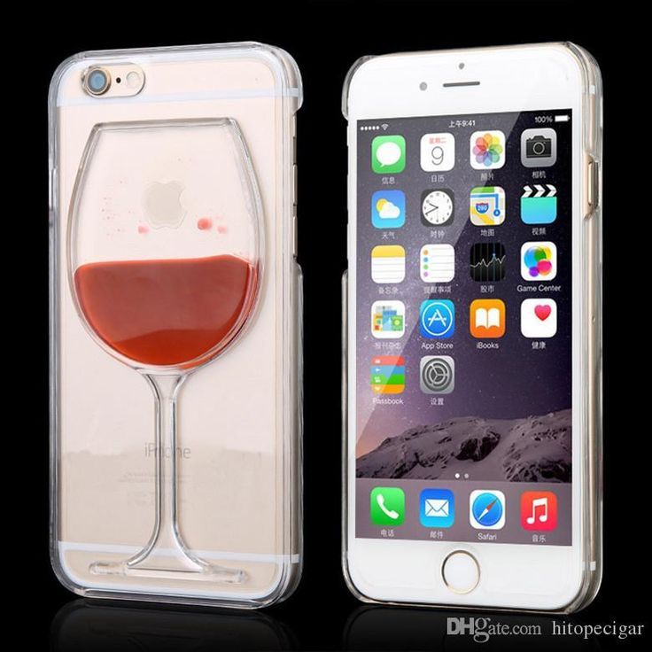 Hot Sale Red Wine Cup Liquid Stars Transparent Case Cover Phone Cases Back Covers For Apple Iphone 6s 6 Plus 5 5s Best Cell Phone Cases Top Rated Cell Phones From Hitopecigar, $1.01| Dhgate.Com