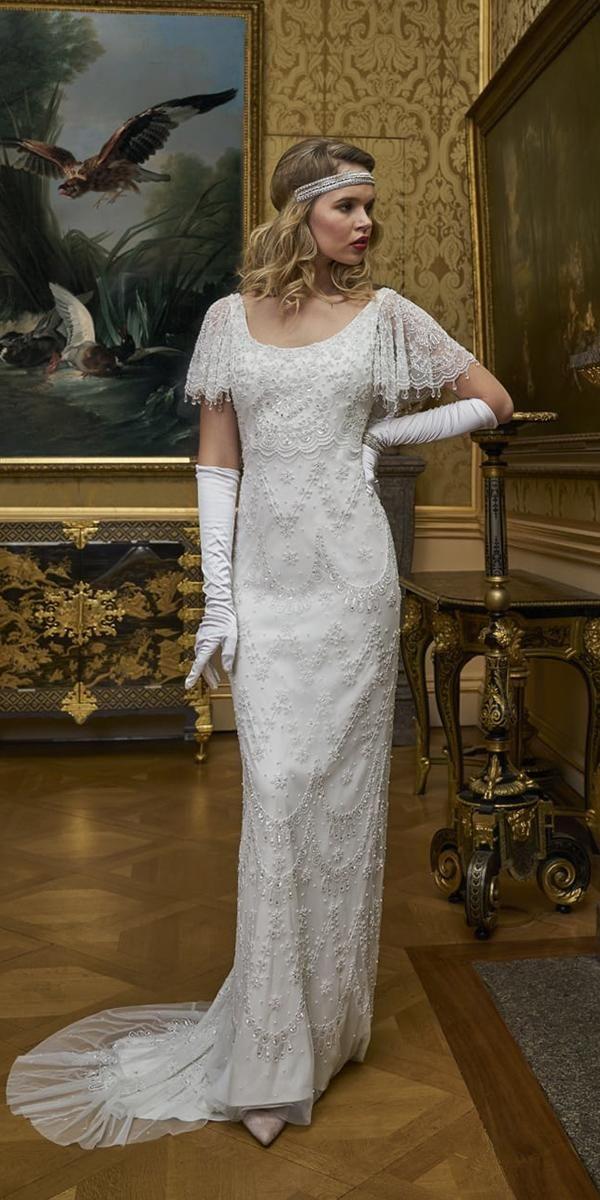 24 Vintage Wedding Dresses 1920s You Never See Wedding Dresses Guide Vintage Wedding Dress 1920s 1920s Wedding Dress Modest Wedding Dresses With Sleeves